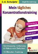 Cover-Bild zu Kohls Konzentrationstraining, 3./4. Schuljahr (eBook) von Brandenburg, Birgit