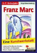 Cover-Bild zu Franz Marc (eBook) von Brandenburg, Birgit