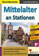 Cover-Bild zu Mittelalter an Stationen (eBook) von Brandenburg, Birgit