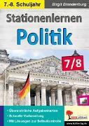 Cover-Bild zu Stationenlernen Politik / Klasse 7-8 (eBook) von Brandenburg, Birgit