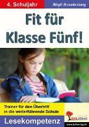 Cover-Bild zu Fit für Klasse Fünf! - Lesekompetenz (eBook) von Brandenburg, Birgit