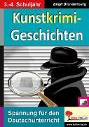 Cover-Bild zu Kunstkrimi-Geschichten (eBook) von Brandenburg, Birgit