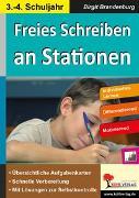 Cover-Bild zu Freies Schreiben an Stationen (eBook) von Brandenburg, Birgit