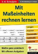 Cover-Bild zu Mit Maßeinheiten rechnen lernen - Band 1 (eBook) von Brandenburg, Birgit