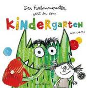 Cover-Bild zu Das Farbenmonster geht in den Kindergarten von Llenas, Anna