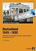 Cover-Bild zu Deutschland 1945 - 1990 (eBook) von Meyer, Rudolf