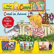 Cover-Bild zu 10: Conni im Advent / Conni fährt Schlittschuh / Conni lässt Drachen steigen / Conni und der fiese Schnupfen (Vier Hörspiele zur TV-Serie) (Audio Download) von Boehme, Julia