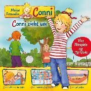 Cover-Bild zu 01: Conni zieht um / Conni bekommt eine Katze / Conni macht das Seepferdchen / Conni geht zelten (Vier Hörspiele zur TV-Serie) (Audio Download) von Schneider, Liane