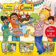 Cover-Bild zu 04: Conni hat Geburtstag / Conni backt Pizza / Conni geht in den Zoo / Conni geht verloren (Vier Hörspiele zur TV-Serie) (Audio Download) von Schneider, Liane