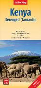 Cover-Bild zu Nelles Map Landkarte Kenya - Serengeti (Tanzania) | Kenia - Serengeti (Tansania) | Kenya - Serengeti (Tanzanie) | Kenia - Serengueti (Tanzania). 1:1'100'000 von Nelles Verlag (Hrsg.)