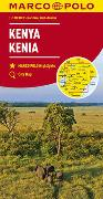 Cover-Bild zu MARCO POLO Länderkarte Kenia 1:1 000 000. 1:1'000'000