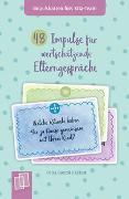 Cover-Bild zu 48 Impulse für wertschätzende Elterngespräche von Bartoli y Eckert, Petra