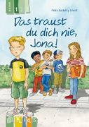 Cover-Bild zu Das traust du dich nie, Jona! Lesestufe 1 von Bartoli y Eckert, Petra