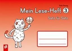 Cover-Bild zu Mein Lese-Heft 3 - Satz für Satz von Hennig, Anke