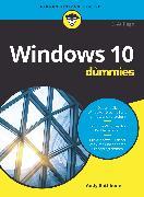Cover-Bild zu Windows 10 für Dummies (eBook) von Rathbone, Andy