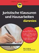 Cover-Bild zu Juristische Klausuren und Hausarbeiten für Dummies von Aksoy, Derya