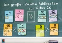 Cover-Bild zu Die großen Zahlen-Bildkarten von 0 bis 20 von Redaktionsteam Verlag an der Ruhr