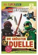 Cover-Bild zu SUPERLESER! LEGO® NINJAGO® Die größten Duelle von Hugo, Simon