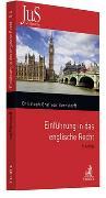 Cover-Bild zu Einführung in das englische Recht von Bernstorff, Christoph Graf Von
