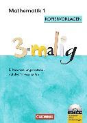 Cover-Bild zu 3-malig 1. Schuljahr. Mathematik. Differenzierungsmaterial auf drei Niveaustufen. Kopiervorlagen mit CD-ROM von Brännström, Corinna
