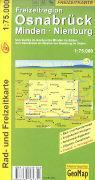 Cover-Bild zu Freizeitregion Osnabrück, Minden, Nienberg. 1:75'000