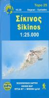 Cover-Bild zu Sikinos. 1:25'000
