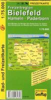 Cover-Bild zu Bielefeld, Hameln, Paderborn. 1:75'000