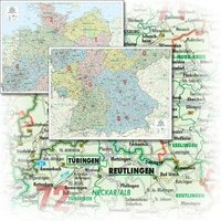 Cover-Bild zu Deutschland Organisationskarte.. 1:500'000