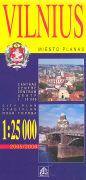 Cover-Bild zu Vilnius. 1:25'000