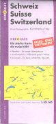 Cover-Bild zu Touristik-Karte Schweiz. 1:301'000