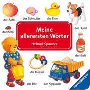 Cover-Bild zu Spanner, Helmut: Meine allerersten Wörter