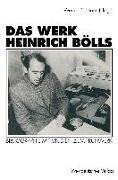 Cover-Bild zu Das Werk Heinrich Bölls (eBook) von Bellmann, Werner (Hrsg.)