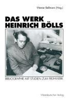 Cover-Bild zu Das Werk Heinrich Bölls von Bellmann, Werner (Hrsg.)