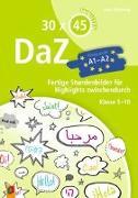 Cover-Bild zu 30 x 45 Minuten - DaZ - A1-A2 von Wilkening, Nina