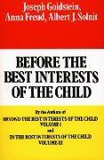 Cover-Bild zu Goldstein, Joseph: Before the Best Interests of the Child (eBook)