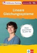 Cover-Bild zu 10-Minuten-Training Mathematik Lineare Gleichungssysteme 8.-10. Klasse