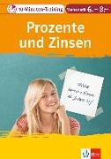 Cover-Bild zu 10-Minuten-Training Prozente und Zinsen. Mathematik 6.-8. Klasse