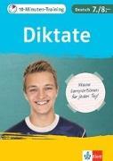 Cover-Bild zu 10-Minuten-Training Deutsch Rechtschreibung Diktate 7./8. Klasse
