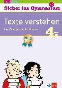 Cover-Bild zu Klett Sicher ins Gymnasium Texte verstehen 4. Klasse (eBook) von Lassert, Ursula