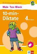 Cover-Bild zu Klett Mein Test-Block 10-min-Diktate 4. Klasse (eBook) von Lassert, Ursula