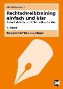 Cover-Bild zu Rechtschreibtraining einfach und klar - 4. Kl von Lassert, Ursula