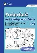 Cover-Bild zu Freiarbeit mit Bildgeschichten, Klasse 3/4 von Lassert, Ursula