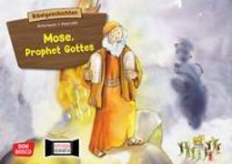 Cover-Bild zu Mose, Prophet Gottes. Kamishibai Bildkartenset von Vaorin, Britta