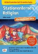 Cover-Bild zu Arbeitsmaterial Grundschule. Stationenlernen Religion. Abraham und Sara von Vaorin, Britta
