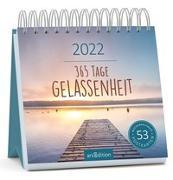 Cover-Bild zu Postkartenkalender 365 Tage Gelassenheit 2022