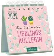 Cover-Bild zu Minikalender Du bist meine Lieblingskollegin 2022