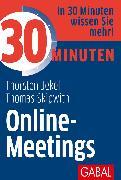 Cover-Bild zu 30 Minuten Online-Meetings (eBook) von Jekel, Thorsten