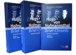 Cover-Bild zu Hugo von Hofmannsthal Brief-Chronik von Schmid, Martin E. (Hrsg.)