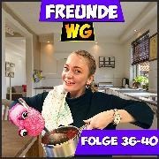 Cover-Bild zu Folge 36-40 (Audio Download) von WG, Freunde