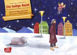 Cover-Bild zu Die heilige Nacht. Eine Weihnachtsgeschichte nach Selma Lagerlöf. Kamishibai Bildkartenset von Brandt, Susanne